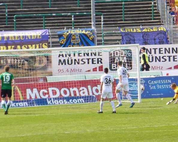 2:0 gegen Saarbrücken – Preußen Münster ist offiziellgerettet